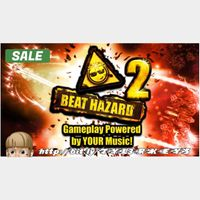 Beat Hazard 2 Steam Key 🔑 / Worth $18.99 / 𝑳𝑶𝑾𝑬𝑺𝑻 𝑷𝑹𝑰𝑪𝑬 / TYL3RKeys✔️