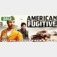 American Fugitive Steam Key 🔑 / Worth $19.99 / 𝑳𝑶𝑾𝑬𝑺𝑻 𝑷𝑹𝑰𝑪𝑬 / TYL3RKeys✔️
