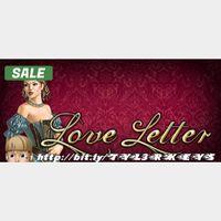 Love Letter Steam Key 🔑 / Worth $6.99 / 𝑳𝑶𝑾𝑬𝑺𝑻 𝑷𝑹𝑰𝑪𝑬 / TYL3RKeys✔️
