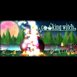 Cooking Witch Steam Key 🔑  / 𝑳𝑶𝑾𝑬𝑺𝑻 𝑷𝑹𝑰𝑪𝑬 / TYL3RKeys✔️