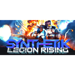 SYNTHETIK: Legion Rising Steam Key 🔑 / Worth $19.99 / 𝑳𝑶𝑾𝑬𝑺𝑻 𝑷𝑹𝑰𝑪𝑬 / TYL3RKeys✔️