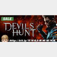Devil's Hunt Steam Key 🔑 / Worth $14.99 / 𝑳𝑶𝑾𝑬𝑺𝑻 𝑷𝑹𝑰𝑪𝑬 / TYL3RKeys✔️