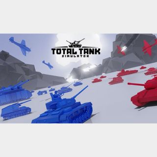 Total Tank Simulator Steam Key 🔑 / Worth $19.99 / 𝑳𝑶𝑾𝑬𝑺𝑻 𝑷𝑹𝑰𝑪𝑬 / TYL3RKeys✔️