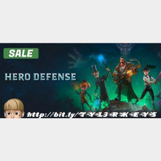 HERO DEFENSE Steam Key 🔑 / Worth $29.99 / 𝑳𝑶𝑾𝑬𝑺𝑻 𝑷𝑹𝑰𝑪𝑬 / TYL3RKeys✔️