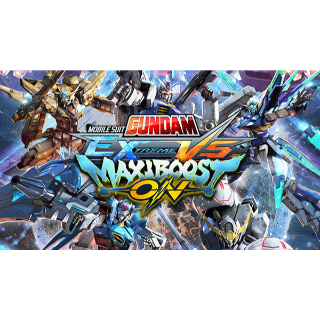 MOBILE SUIT GUNDAM EXTREME VS. MAXIBOOST ON PS4 ( Europe Code Instant)
