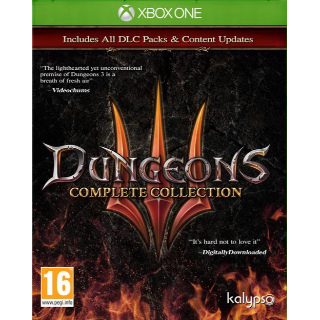 Dungeons 3 - Complete Collection (Xbox one Global) instant