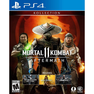 Mortal Kombat 11 Aftermath Kollection (PS4 Europe Code ) Instant