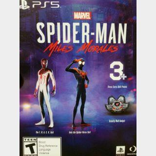 Spider-Man Miles Morales - Pre Order Bonus DLC (PS5 Download Code) EU