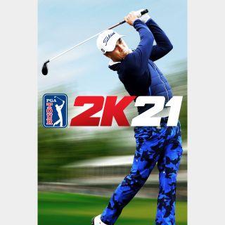 PGA TOUR 2K21 Steam Key GLOBAL