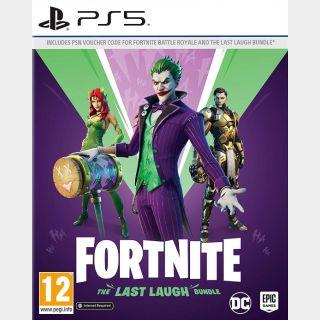 Fortnite: The Last Laugh Bundle + 1000 V-Bucks (PS5) EUROPE
