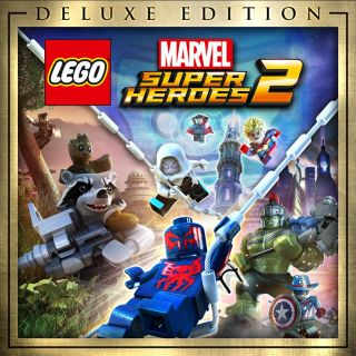 LEGO Marvel Super Heroes 2 Deluxe Edition Steam Key GLOBAL