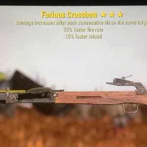Weapon | Furious  FFR Faster reload Crossbow ⭐️⭐️⭐️