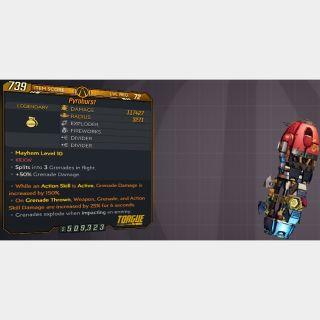 Grenade | L72 PYROBURST 117K DMG