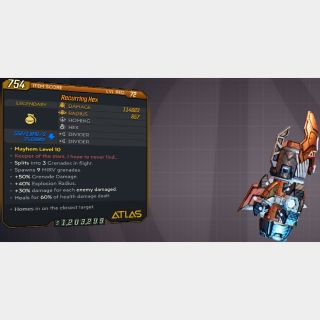 Grenade    L72 RECURR. HEX 114K+⚡