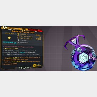 Shield   L72 SCREAM OF TERR. 826K