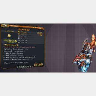 Grenade | L72 RECURR. HEX 114K+☢️