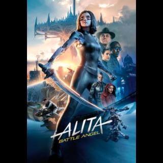 Alita: Battle Angel(Movies Anywhere)