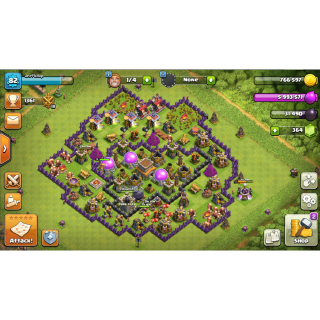 I will clash of clans farmer