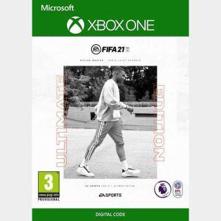FIFA 21 EUROPE XBOX ONE