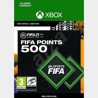 FIFA 21: 500 FUT Points Xbox ONE