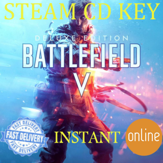 Battlefield V 5 Deluxe Edition Xbox One Key GLOBAL