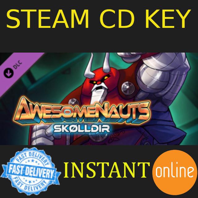 Skølldir - Awesomenauts Character DLC Steam Key GLOBAL - Steam Games -  Gameflip