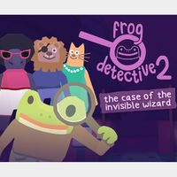 Frog Detective 2: The Case of the Invisible Wizard Steam Key GLOBAL