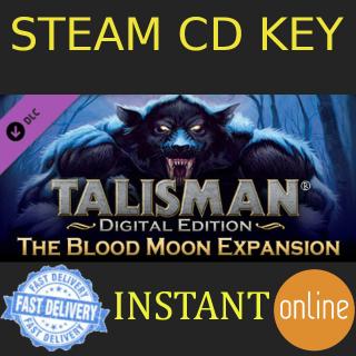 Talisman - The Blood Moon Expansion DLC Steam Key GLOBAL
