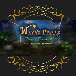 Witch's Pranks: Frog's Fortune Collector's Edition steam cd key