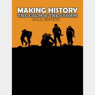 Making History: The Calm & the Storm - Gold Edition Steam Key GLOBAL