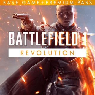 Battlefield 1 Revolution Edition XBOX One Key GLOBAL