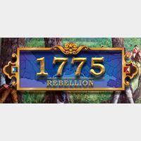 1775: Rebellion steam cd key
