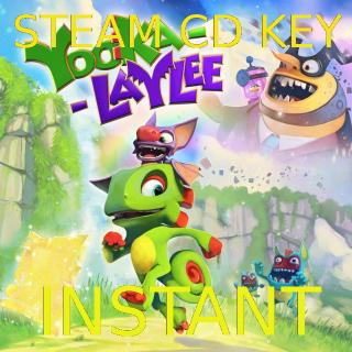 Yooka-Laylee steam cd key