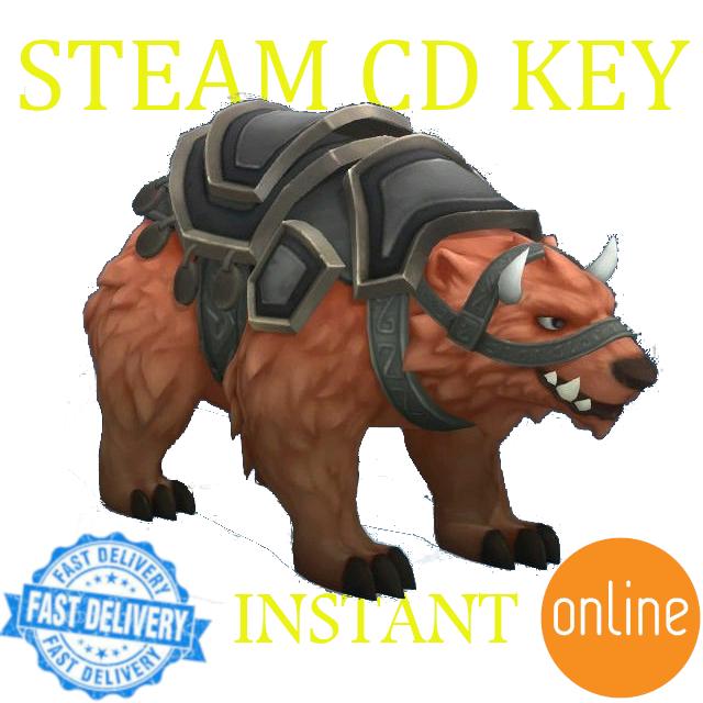Battlerite DLC: YogYog Bear Mount Steam Key GLOBAL