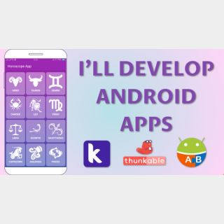 I will Do An Android App