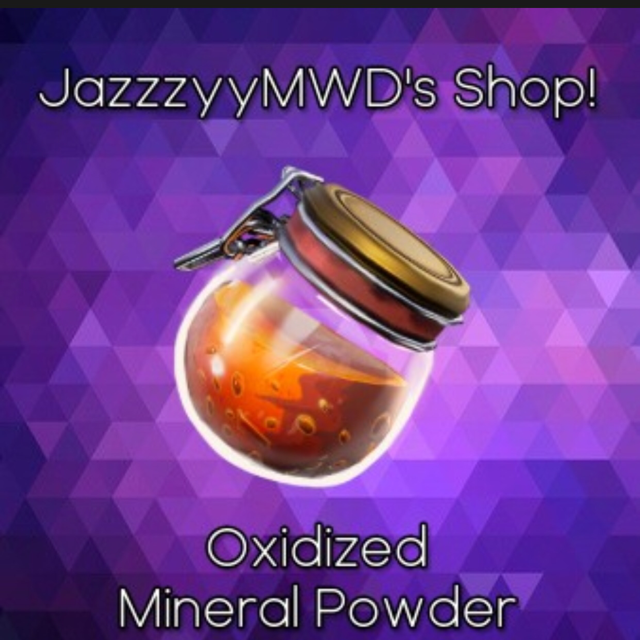 Oxidized Mineral Powder | 10000x