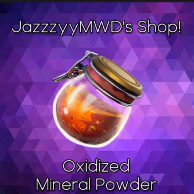 Oxidized Mineral Powder | 1500x