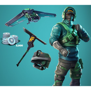 Fortnite Counterattack Set Code with 2000 VBucks - Other