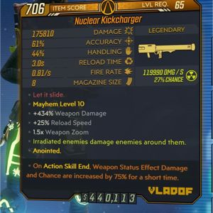 Weapon | Nuclear Kickcharger