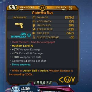 Weapon | Fasterfied Tizzy