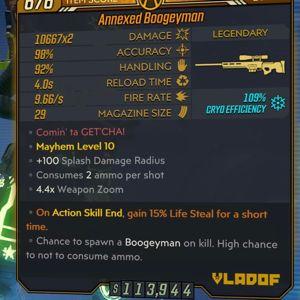 Weapon | Annexed Boogeyman