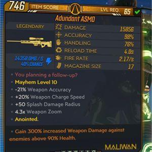 Weapon | Adundant ASMD