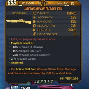 Weapon | Conference Call