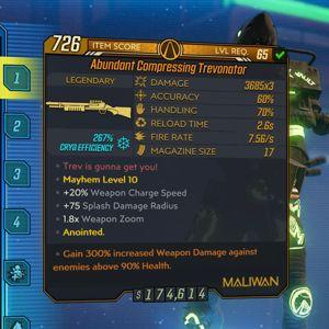 Weapon | Abundant Compressing