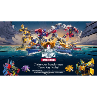 World of Warships - Transformers Camo