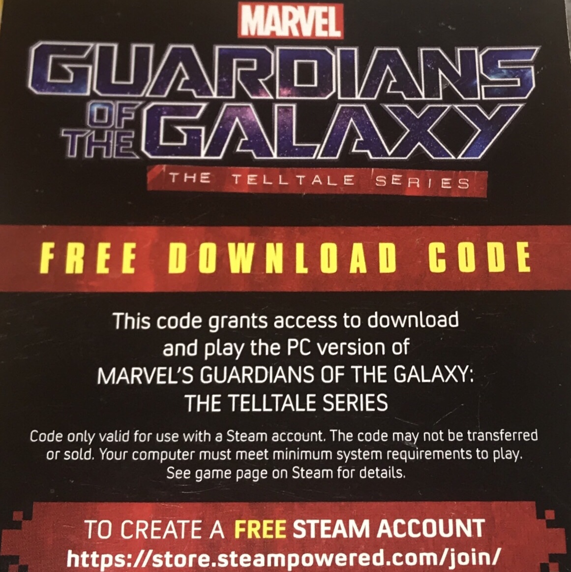 Guardians of the Galaxy- The Telltale Series - Steam Games