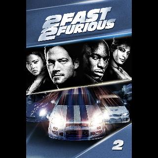 2 Fast 2 Furious Digital Move Code Auto Delivery Vudu Itunes Etc