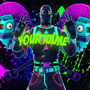 Glowing (Boy and Girl) Fortnite Profile Pictures
