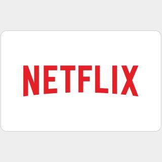 $25.00 Netflix USD