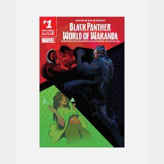 Code for Marvel Black Panther: World of Wakanda #1 2017 Digital Comic